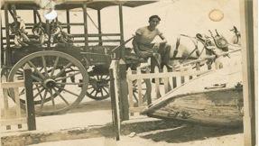 Aquí tenía 17 años, época en la que hacia los viajes a Jaimanitas vendiendo viandas.