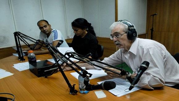 Noticiero Nacional de Radio. Foto: Juventud Rebelde.