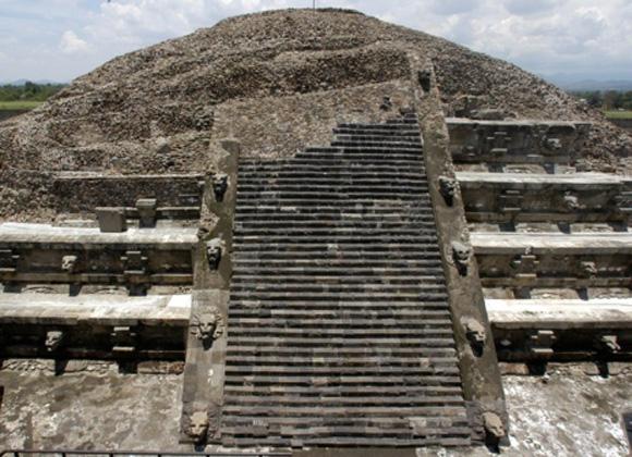 Templo de Quetzalcoatl. Foto: Sergio Gómez.