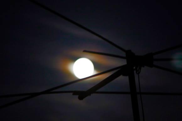 La superluna del año, desde La Habana. Foto: Ismael Francisco/Cubadebate.