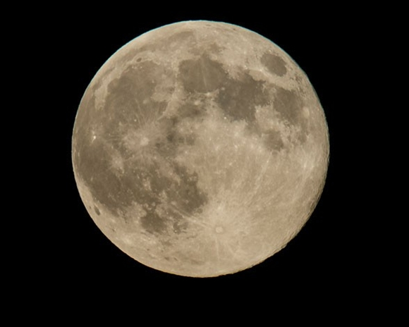 La superluna del año: Luna excepcional.