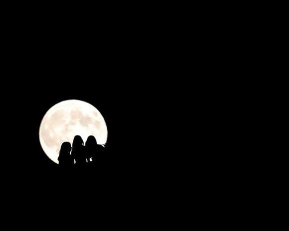 La superluna del año: Desde Belgrado.