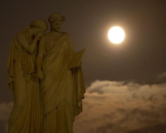 La superluna del año : Desde Estados Unidos.
