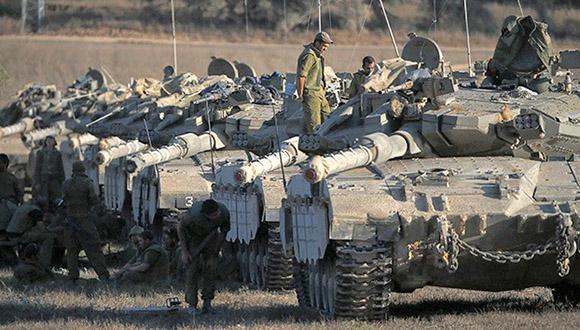 tanques-israel-franja-de-gaza
