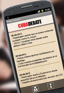 Suscríbase al servicio de Titulares de Cubadebate por sms. Envie un mensaje con la palabra Cubadebate al 8100. (Válido para clientes de Cubacel)