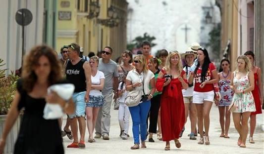 Turismo cubano crece un 16 % al finalizar enero