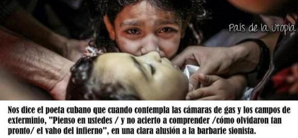 """Auschwitz vs Gaza. Recordando """"Halt!"""", un poema del cubano Luis Rogelio Nogueras (Wichy El Rojo)"""