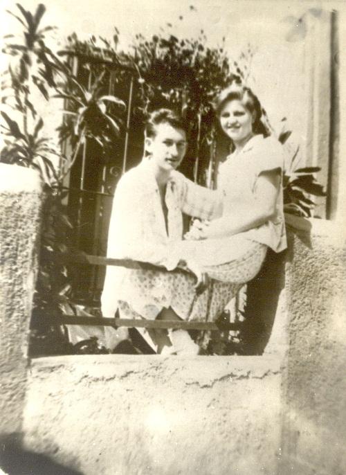 1 América y su hermano Taras Domitro
