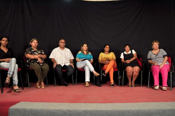 Asistieron el Coordinador Nacional Carlos R. Miranda Martínez, Betty Oria González y demás funcionarios de la organización. Foto-Roberto Garaicoa Martínez