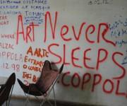 Art never sleeps (El arte nunca duerme). Foto: Lázaro J. González