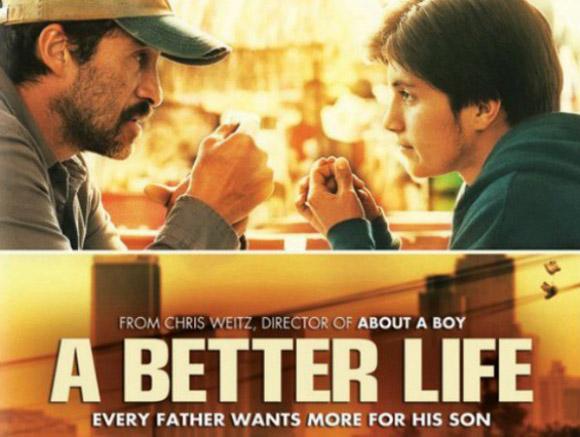 Bichir en un cartel del filme A better life. Foto: AFP.