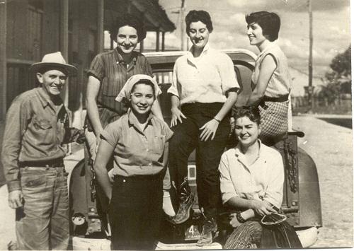 América  Domitro en el II Frente 1958-1959
