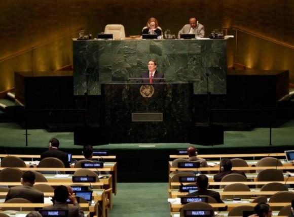 Bruno en la ONU 27 de septiembre de 2014