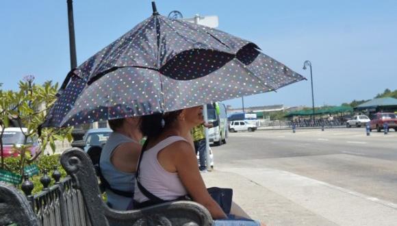 En Cuba las temperaturas serán cada vez más altas