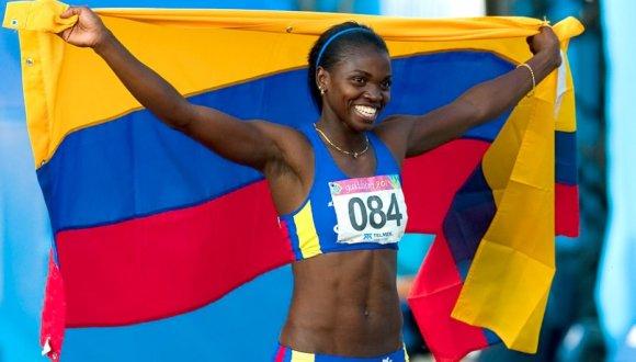 Estelar Caterine Ibargüen agradece a escuela cubana de atletismo