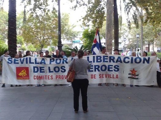 Demostración por Los Cinco en Sevilla