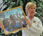 Diana Nyad. Foto: Ricardo López Hevia/Granma