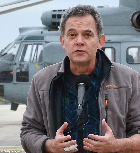Didier Francois, de 53 años de edad, quien fuera liberado por los terroristas a principios de año. Foto: Getty Images.