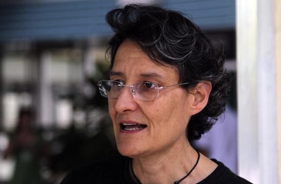 Doctora Roberta Andraghetti, experta de la OPS, que entrena a personal cubano que viajará a Sierra Leona para enfrentar epidemia de ebola. Foto: Ladyrene Pérez/Cubadebate