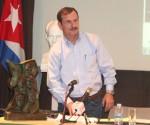 Fernando González Llort, liberado hace apenas seis meses tars más de 15 años de prisión en EEUU.- EMBAJADA DE CUBA EN MADRID