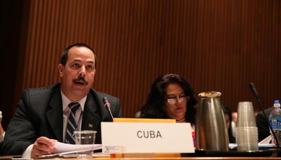 José Ángel Portal Miranda durante el Consejo Directivo de 2013. Foto: Infomed (Archivo).