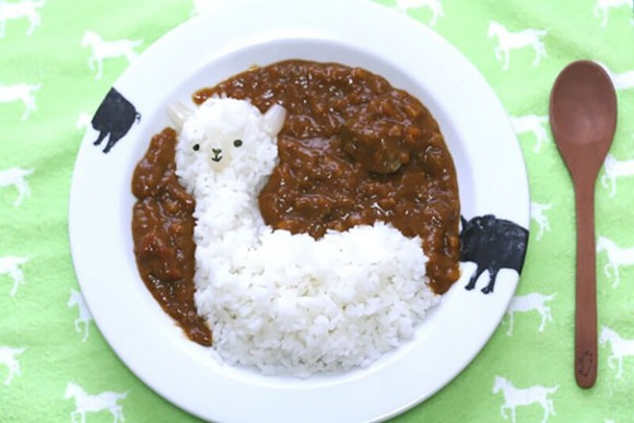 Llama de curry