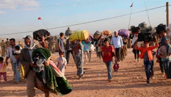 Los kurdos sirios están siendo atacados por el EI. Foto: Reuters.