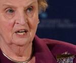 Madeleine Albright. Foto: Getty Images.