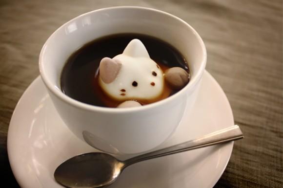 Malvavisco en café