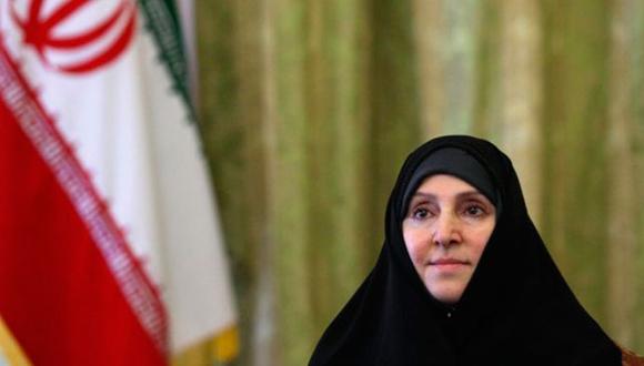 Marzieh Afkham, portavoz del ministerio de Relaciones Exteriores de Irán. Foto: DPA.