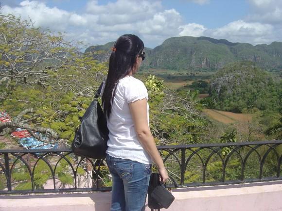 Mirador Hotel Los Jazmines, Viñales, Pinar del Río. Foto: Anónima / Cubadebate