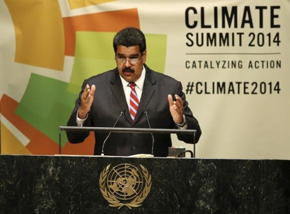 Nicolás Maduro en la ONU 1