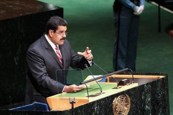 Nicolás Maduro en la ONU 2