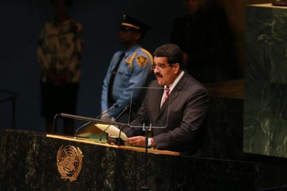 Nicolás Maduro en la ONU 5