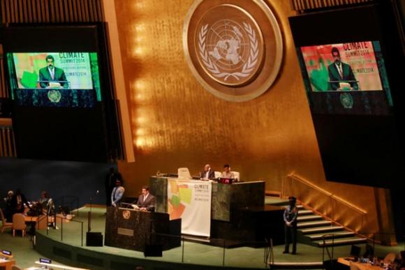 Nicolás Maduro en la ONU 7