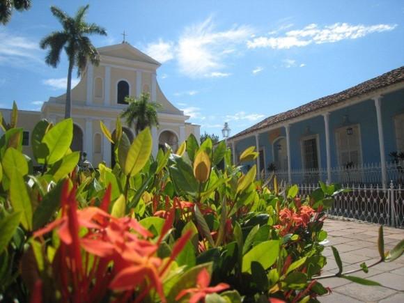 Plaza Mayor de Trinidad Foto: Betsy Olivares Betancourt / Cubadebate