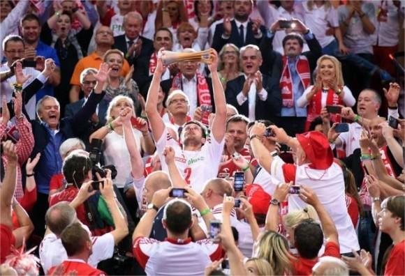 Polonia campeón mundial de voli