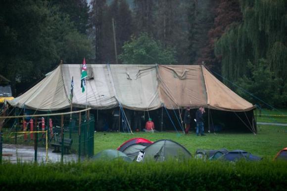 Protestas contra la cumbre de la OTAN en Gales 12