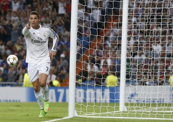 Real Madrid contra Basilea. Foto: Reuters.