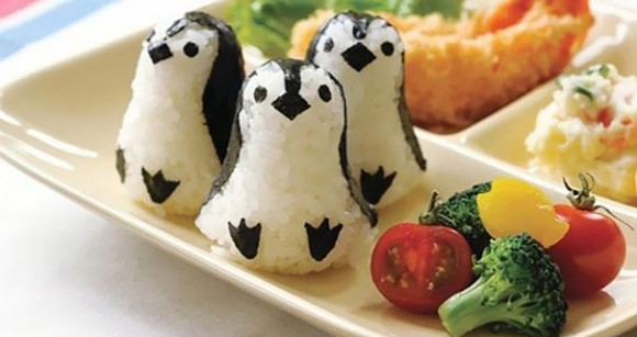 Sushi de pingüinos