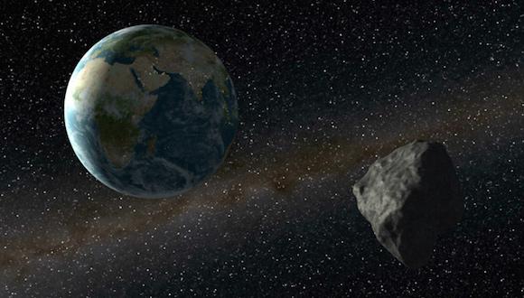 Un asteroide de unos 20 metros pasará cerca de la Tierra este fin de semana