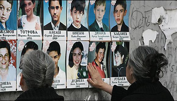 Víctimas de Beslán