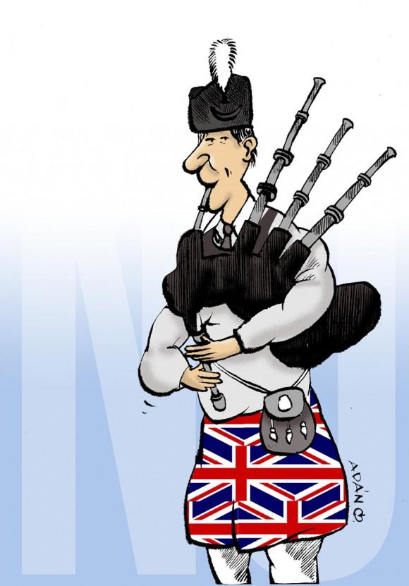 Escocia dijo No. Autor: Adán