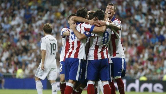 atletico de madrid victoria sobre el real madrid