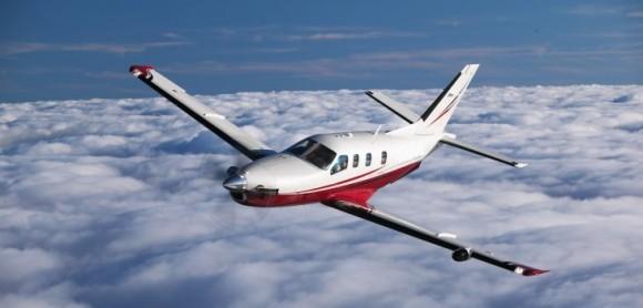 El avión caído sería un moderno monomotor ejecutivo TBM 700 C2