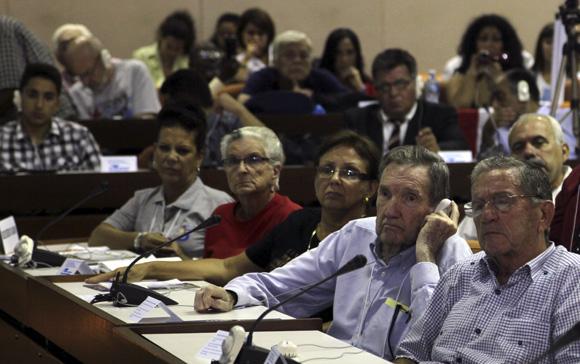 X Coloquio Internacional por la libertad de Los Cinco y contra el terrorismo que se celebra en el Palacio de las Convenciones de La Habana, donde participan 285 delegados de 48 países. Foto: Ladyrene Pérez/ Cubadebate