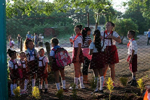 Inicio del curso escolar en Cuba. 1ro de septiembre de 2014. Foto: Ismael Francisco/ Cubadebate.
