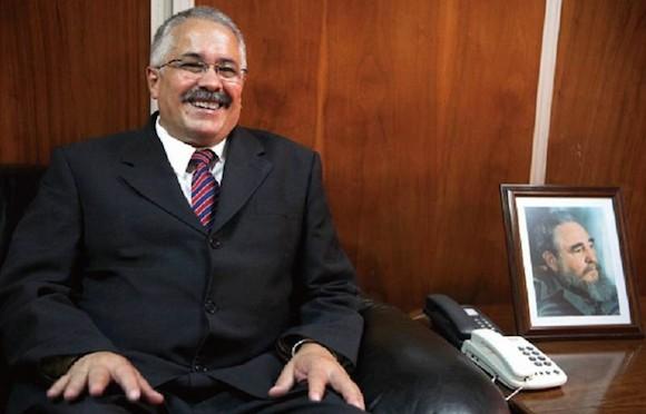 El embajador Dagoberto Rodríguez Barrera dice que a Cuba le gustaría ver un comercio multiplicado con México. Foto: CRISTOPHER ROGEL BLANQUET / EL UNIVERSAL.