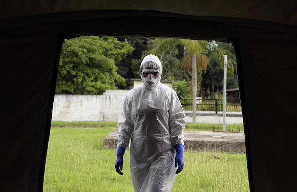 Dalila Martinez, enfermera entrenadora del personal médico cubano que partirá a Sierra Leona. Foto: Ladyrene Perez/ Cubadebate