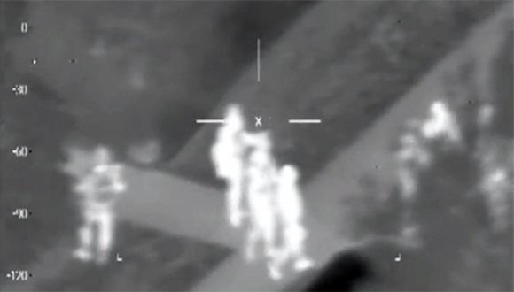 En el operativo policial se detuvieron a 18 presuntos terroristas. Foto / NSW Police aerial footage.